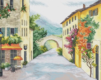 "Cross stitch pattern ""Provence"""