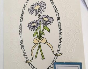 Hand drawn - With Sympathy Card