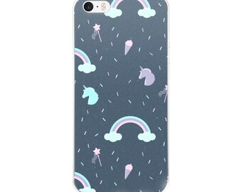 Iphone 6 Case Unicorns, Iphone 6 Case Clear With Design, Iphone 5s Case Clear, Iphone SE Case Clear Iphone 5c Case Clear Iphone Case Unicorn