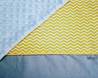 Customizable custom baby blanket