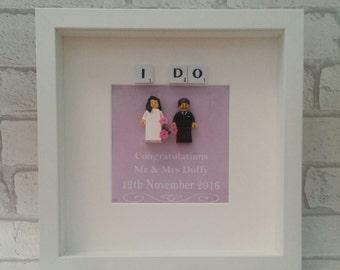 Lego Mini Figure Bride Amp Groom Wedding Gift For Couple