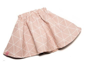 Skirt with petticoat pink graphic