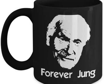Funny Psychology Mugs - Forever Jung - Ideal Psychologist Gifts