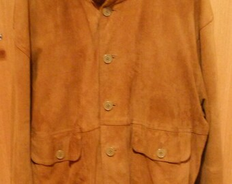 Jacket suede Conbipel