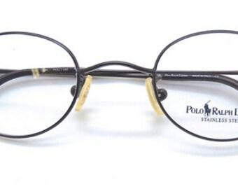 Polo Ralph Lauren Polo 445 Small Lens Prescription Glasses In Gunmetal Finish 41mm lens