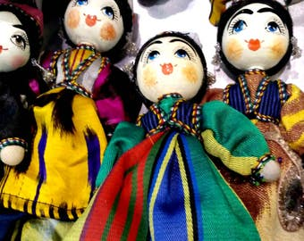 Dolls with Uzbek national dresses