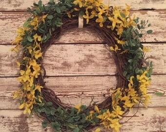 Sunny Spring Wreath