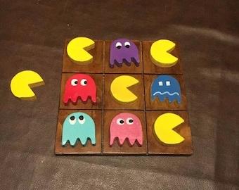 Nostalgic PacMan Tic Tac Toe