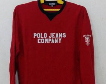 Rare polo jeans Ralph Lauren sweatshirts M size