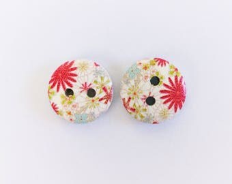 The 'Macy' Button Earring Studs