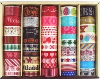 Seasonal Washi Tape Box By Recollections