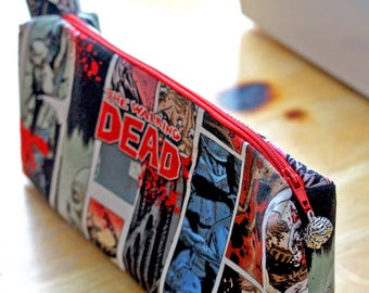 The Walking Dead Zipper Pouch