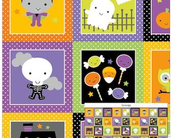Riley Blake Designs Ghouls & Goodies Glow in the Dark Panel