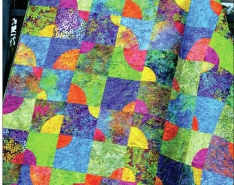Solar Flare Quilt Pattern