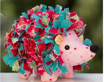 Holly Hedgehog Stuffed Animal Pattern by Melly & Me