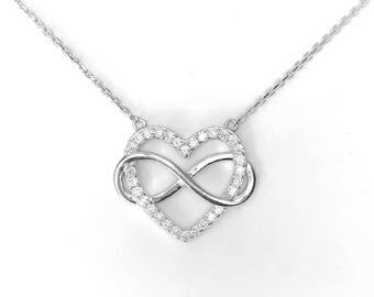 heart necklace etsy. Black Bedroom Furniture Sets. Home Design Ideas