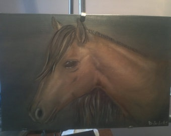 "Original oil painting ""Horse"" by Alla Bakalets"