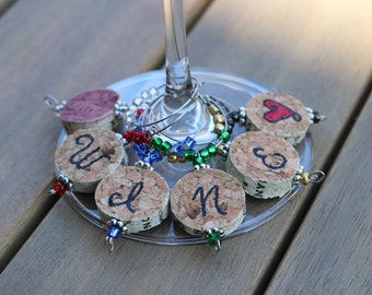 Cork Wine Charms by First Pour Wine