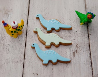 Dinosaur Biscuit Gift Set - Dino Cookie Gift Box - Cookie Gift for Kids - Dinosaur Lovers Gift - Present for Dino Lovers