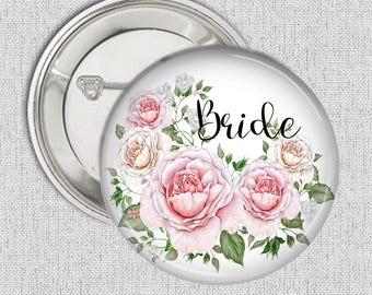 Roses Bride 58 mm 2.5 inch Pocket Mirror