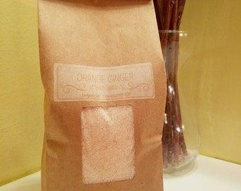 30 Oz. Orange Ginger Aromatherapy Bath Salts