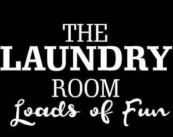 The Laundry Room Decal