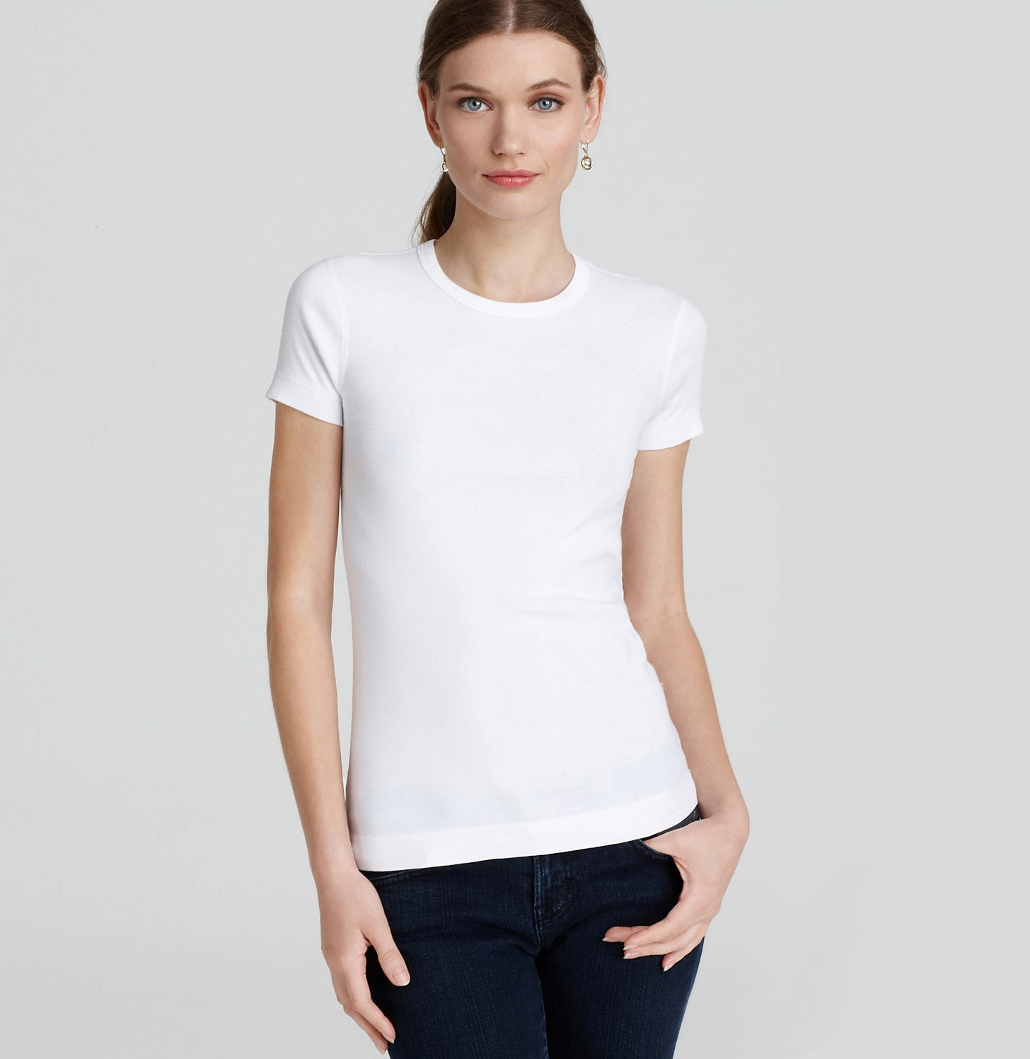 White top slim white tshirt white yoga top running shirt for Who makes the best white t shirts