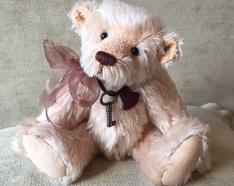 Archie - artist made, hand-made, mohair, teddy bear, collectible, one-of-a-kind