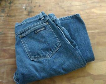 1980s high waisted Calvin Klein mom jeans