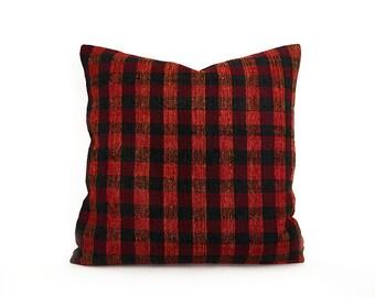18''x18'' Kilim Pillow Cover Multicolor Decorative Pillows Cotton Cushion Cover Ethnic pillow Tribal Pillow Floor Pillow Throw Pillow