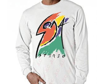 Soda Stereo Languis Long Sleeve White T-Shirt