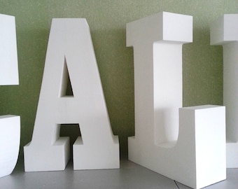 giant letters 30 inches 3d letters large free standing letter initials letters styrofoam letters party decor photo shot letter table letters