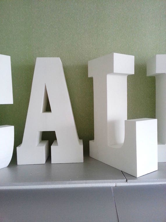 large foam letters letters 30 inches 3d letters large free standing letter 15424