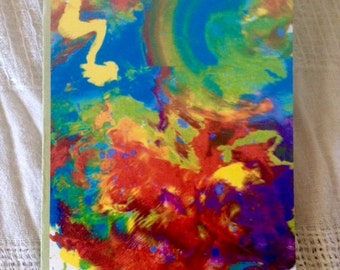 Abstract art -Greeting Card