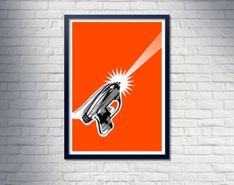 RAYGUN poster - Limited Edition, unframed A1 poster