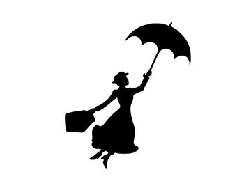 Mary Poppins Decal 4x5
