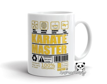 Karate Master Mug