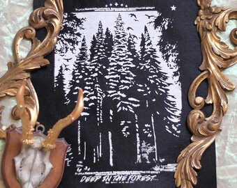 Backpatch spruce forest felt