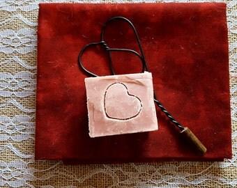 Freesia & Cherry Blossom Soap (square-shaped)