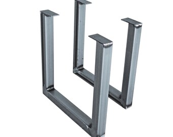 "15"" High Steel Furniture Legs 2 pack"