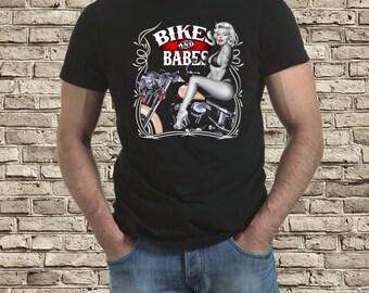 Bikes & Babes  t-shirt