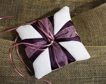 Handmade Ring Bearer Pillow