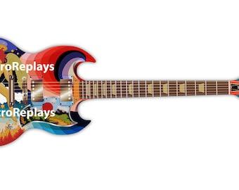 The Fool Gibson SG Sticker