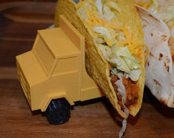 3d Printed Taco Truck, Taco Trailer, and Condiment Trailer, Dishwasher Safe!
