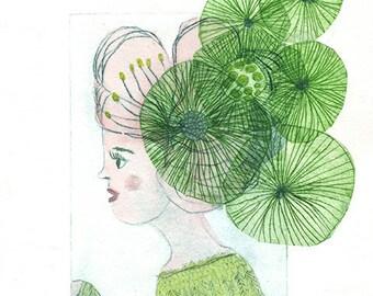 Femme-Fleur #5 - Flower Woman #5