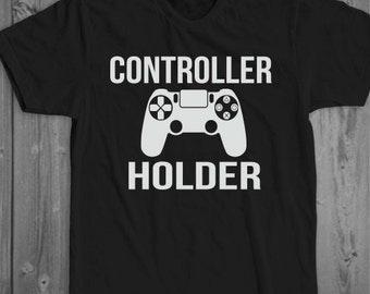 Controller Holder -Unisex Shirt, Gamer Shirt