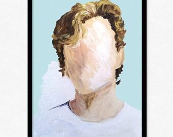 Isak + Even | Skam | Evak |  Digital painting print (more to come)