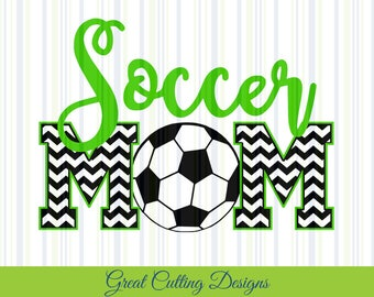Soccer SVG Cut File soccer mom svg DXF cut file Cricut svg Silhouette svg Vinyl Cut File Digital cut file Cricut cut cut file t shirt