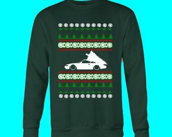 Nissan 240SX Ugly Christmas Sweater Sweatshirt S13 S14 S15 Silvia JDM