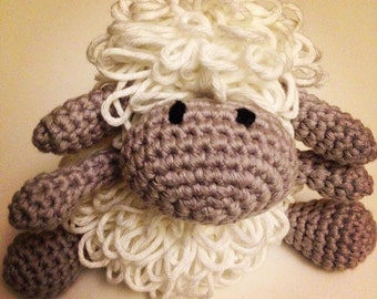Crochet sheep. Handmade